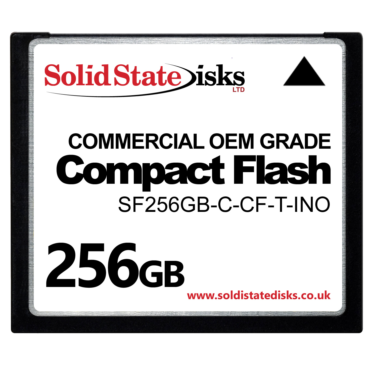 SCSIFLASH-CF Commercial OEM Grade Compact Flash Card 256GB
